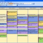 Screenshot of a Microsoft Outlook Calendar