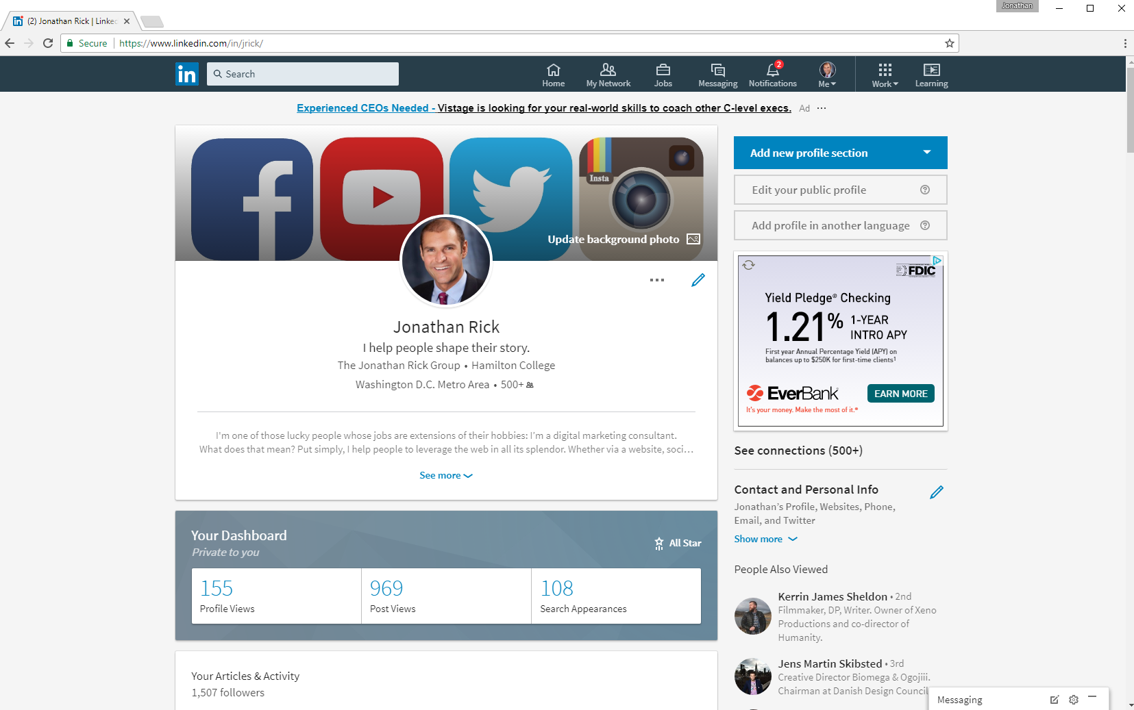 Your LinkedIn Profile Needs to Be Overhauled and Optimized. We Can Help.